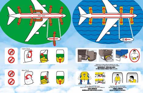 ニュージーランド航空 安全のしおり